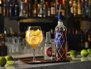 Brugal Dark n Stormy cocktail