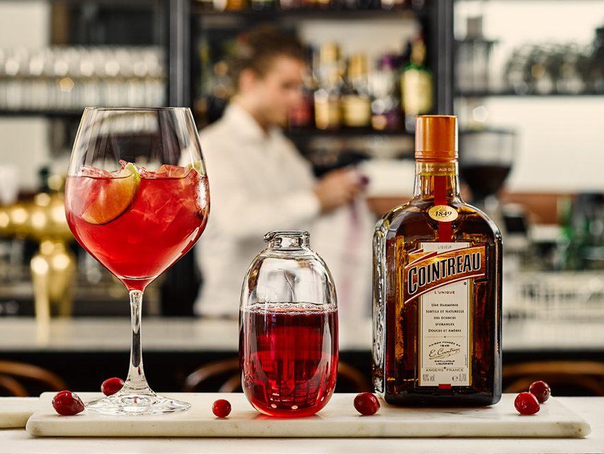 Cointreau Cranberry cocktail