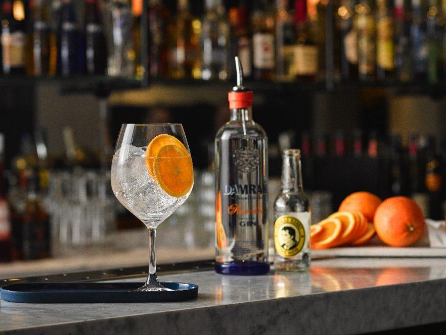 Damrak Gin & Tonic cocktail