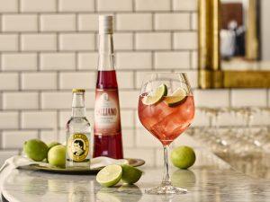 Galliano Tonic cocktail