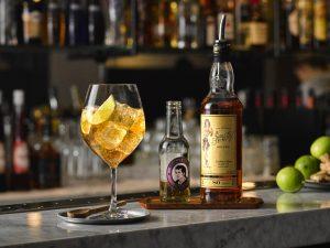 Sailor Jerry Ginger cocktail