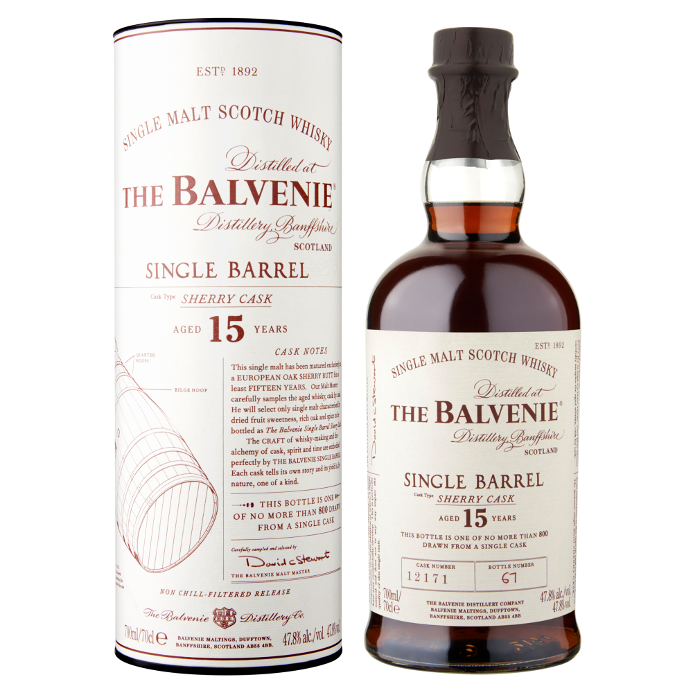 The Balvenie 15 years old Single Barrel Sherry Cask