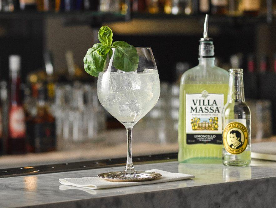 Villa Massa Tonic cocktail