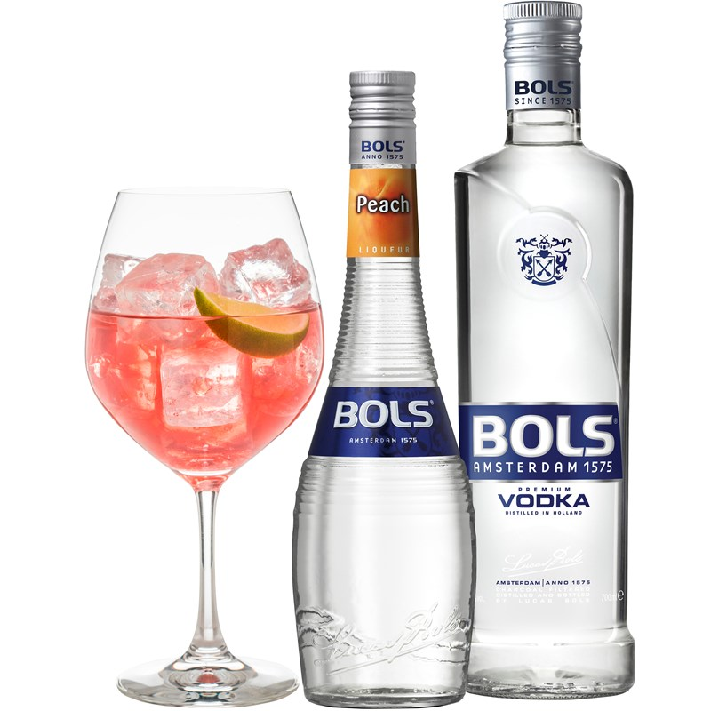 Cocktail: Bols Cranberry Kiss