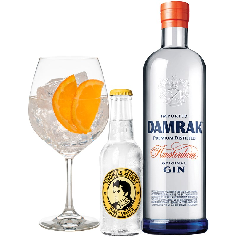 Cocktail: Damrak Gin & Tonic