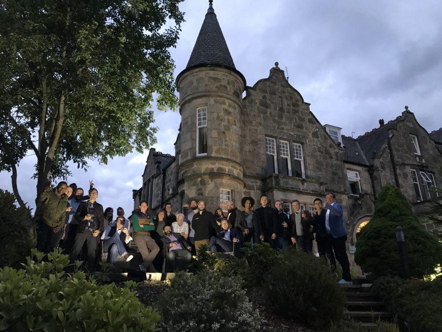 Glenfiddich ambassadeurs in Dufftown   Maxxium Nederland