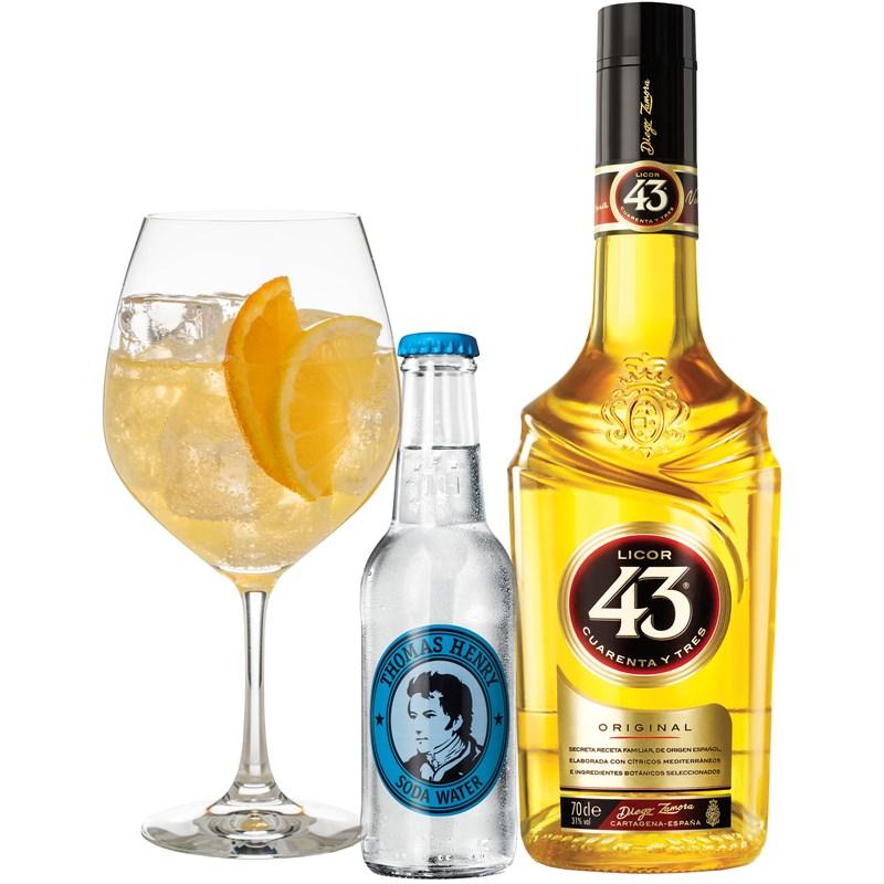 Cocktail: Licor Balon 43
