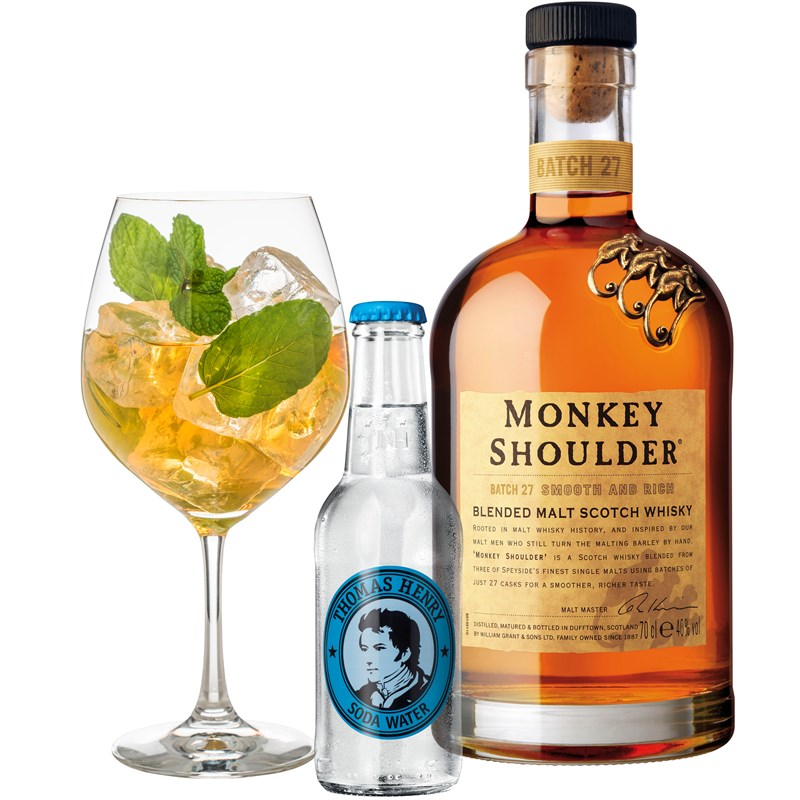Cocktail: Monkey Shoulder Apes & Apples