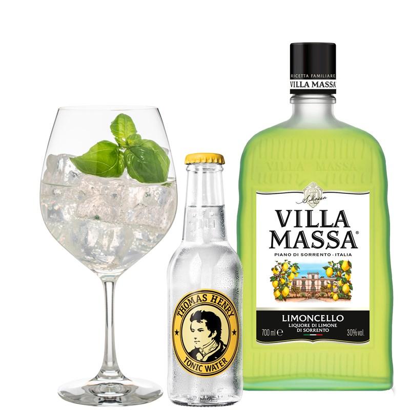 Cocktail: Villa Massa Tonic