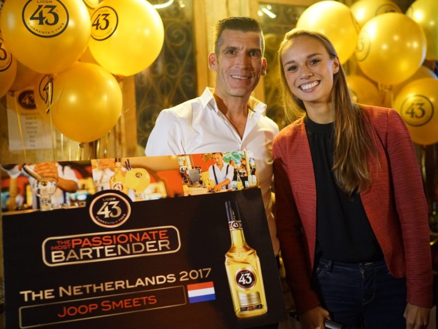 Most Passionate Bartender Joop Smeets - Licor 43