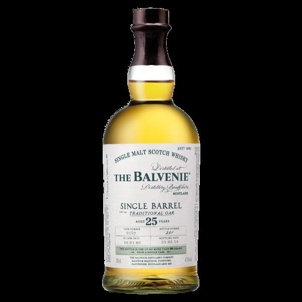 The Balvenie Single Barrel Traditional Oak 25 years old