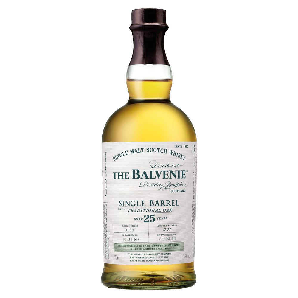 The Balvenie Single Barrel Traditional Oak 25 years old