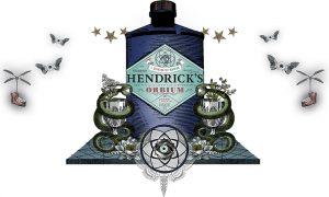Hendricks Gin Orbium
